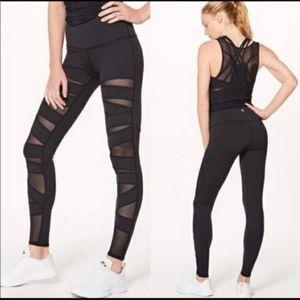 Lululemon High Times Pants Tech Mesh size 6
